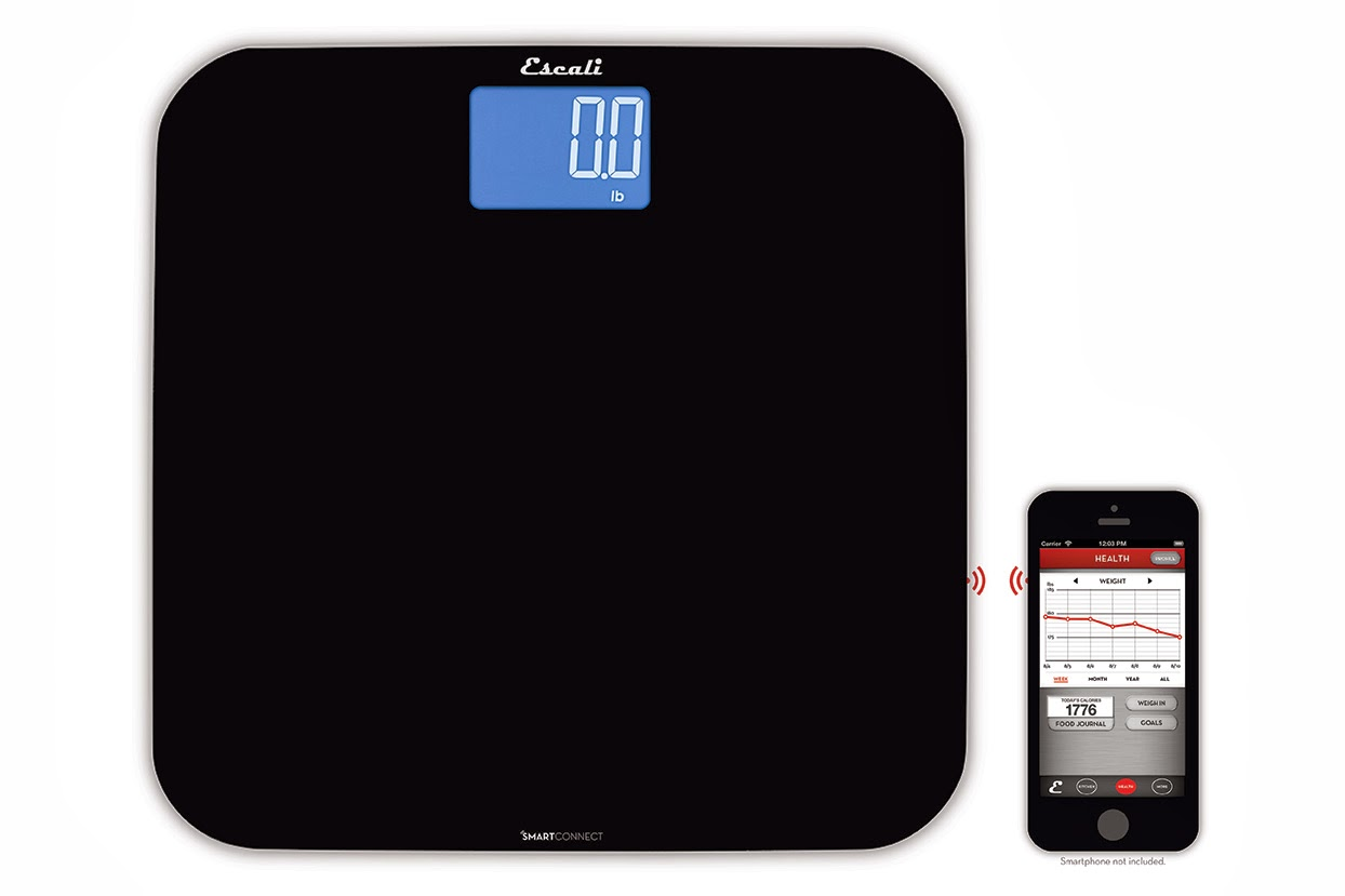 New SmartConnect Body Scale from Escali with Bluetooth® LE and iPhone iPad App