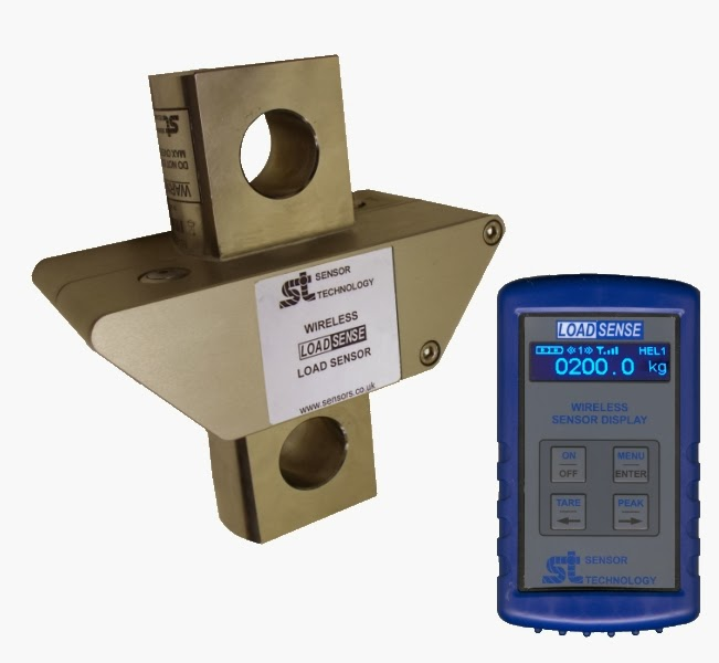 Wireless heli-load sensor updates receiver Interface
