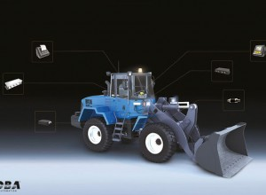 MOBA's New Weighing System HLC-2000 for Wheel Loaders