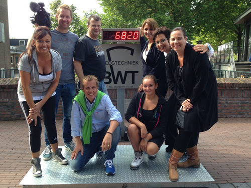 BWT' Scale used on Dorpen Derby TV Show