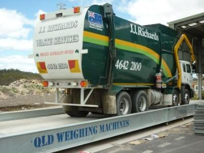 Heavy Duty Weighbridge Tracks Waste for EPA Levy in Queensland's Darling Down