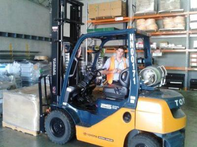 Forklift Weighing Scales for Toyota Material Handling
