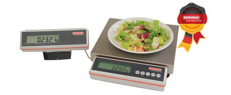 New Gastro-Scale from Soehnle Professional