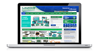 Laumas Elettronica launches new website