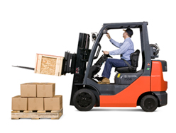 Forklift-mounted scales balance productivity with accuracy