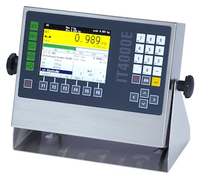 Systec IT4000E Weigh Terminal from Scaco now HACCP Certified