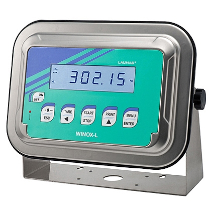 New range of WINOX L/R weight indicators from Laumas Elettronica