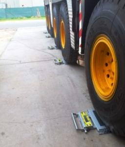 Wireless Wheel Weigh Pads eliminates damaged cables in Western Australia