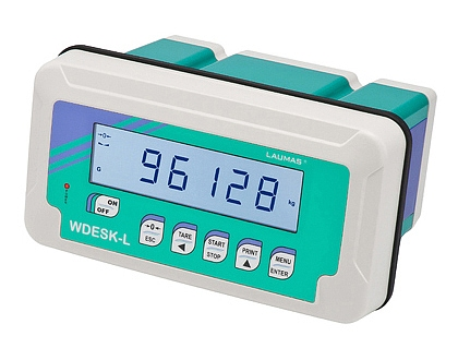 New range of WDESK L/R weight indicators from Laumas Elettronica