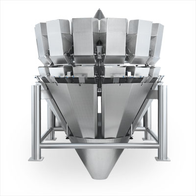 The New Series 14C2-EW Multihead Weigher for fresh-cut produce