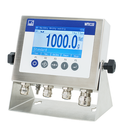 HBM's New Ultra-Robust WTX110-A Weighing Terminal