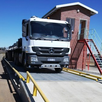 Ultrahawke Weighbridge Installed for Steel Manufacturer In South Africa