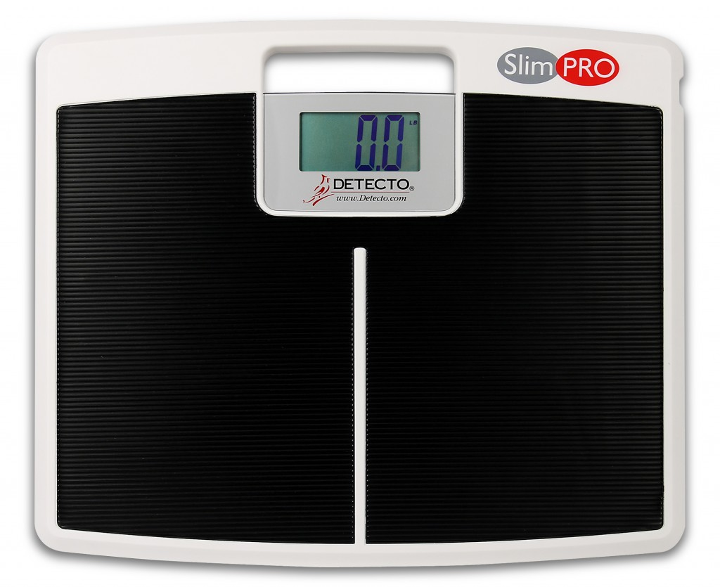 New DETECTO SlimPRO Low-Profile Scale