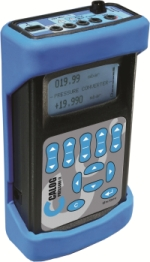 Hand-Held pressure calibration by Calog Instruments