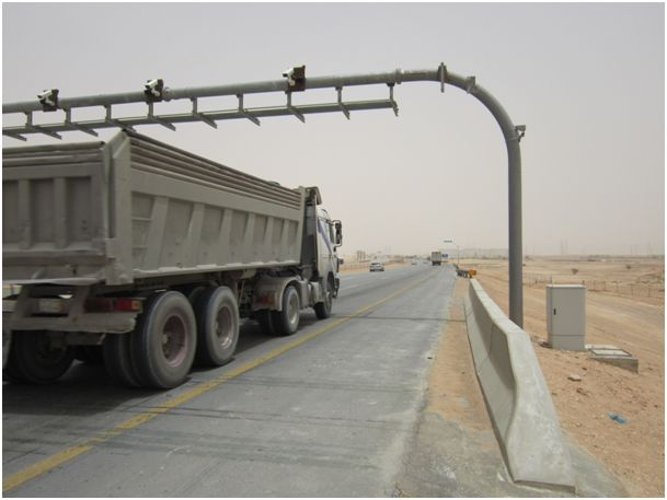 First weigh-in-motion installation from CROSS in Saudi Arabia
