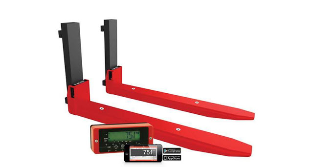 Ravas iForks 32: the Next Generation of Forklift Truck Scales