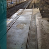 Totally reliable Train Weighbridge Installation at Hanson Cement