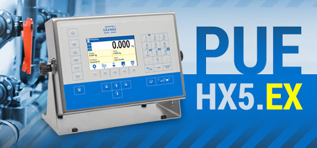 New ATEX Terminal from RADWAG - Model HX5.EX
