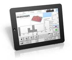 Bizerba's Mobile interfaces with smartphones and tablet PCs