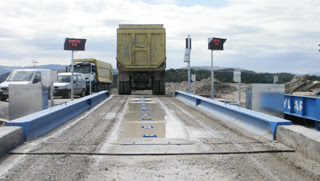Unmanned System Truck Scale system installed in Turkey