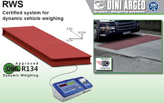 Certified system for dynamic vehicle weighing by Dini Argeo