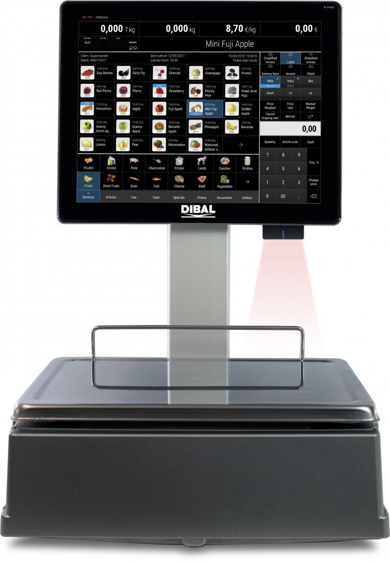 Innovations in Dibal's PC Scale Technology