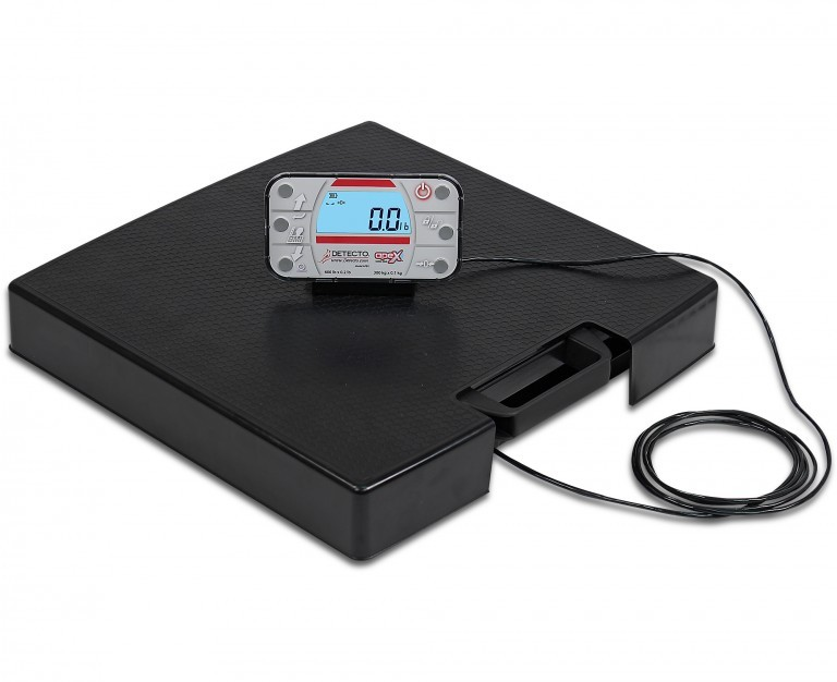 DETECTO's New APEX-RI Series Portable Scales with Remote Indicators