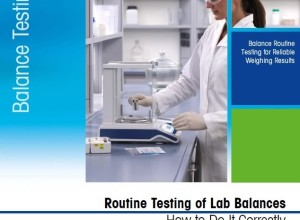 Routine Testing of Lab Balances – How to Do It Correctly by Mettler Toledo