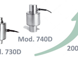 Utilcell Digital Load Cells MOD. 730D and 740D increased their Speed