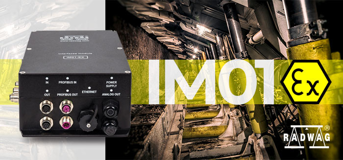 Expand Communication Interfaces Range of the ATEX-Compliant Indicator – IM01EX by RADWAG