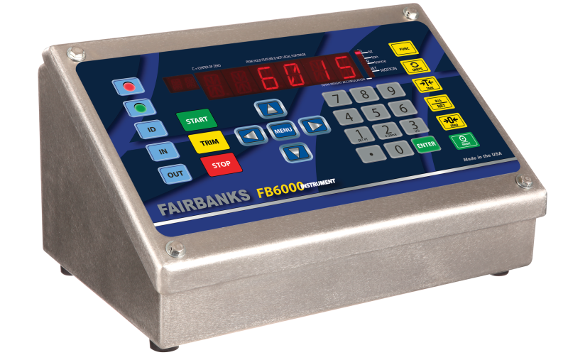 Fairbanks Scales announces Six New Models of the FB6000 Weighing Instrument