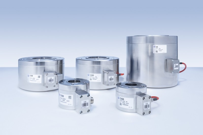 C6B Load Cell for Economical Measurements of Large Forces