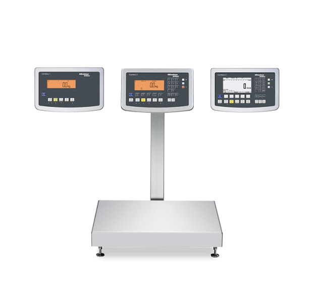 All-New Precision: The Minebea Intec Combics Industrial Scale with a measuring accuracy of 60,000 increments