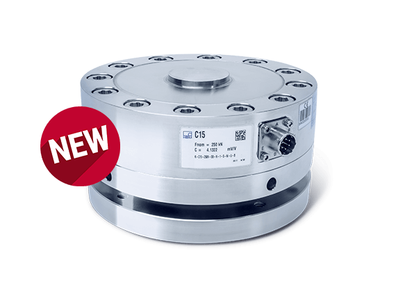 HBM launched the New and Economical C15 Force Transducer