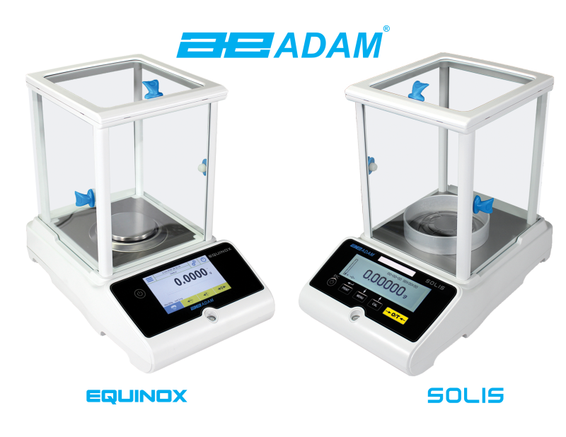 Adam Equipment's New Equinox and Solis Analytical and Precision Balances Now Available in UK and Europe