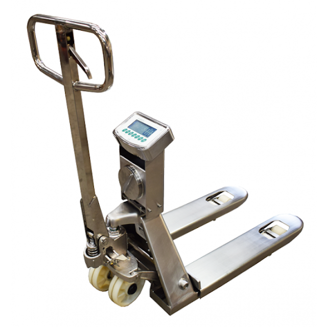 Marsden Group's New PT-450 Waterproof Pallet Truck Scale