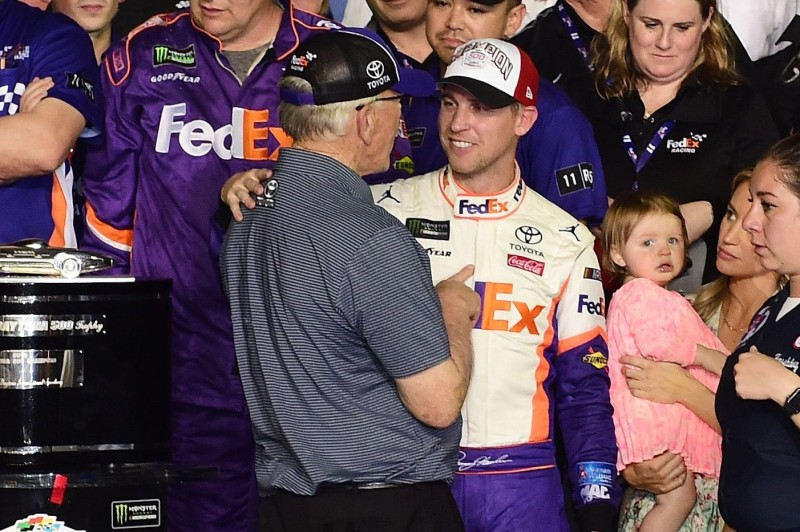 Intercomp Helps Joe Gibbs Racing to Emotional, Historic Daytona 500 Win