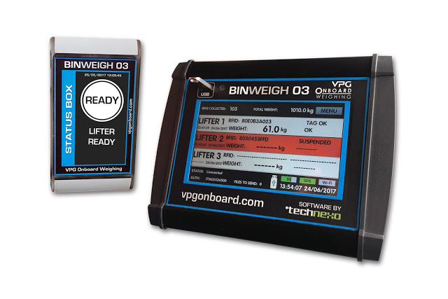 VPG Onboard Weighing Introduces BinWeigh 03 Dynamic Weighing System for Waste Collection Truck Fleets