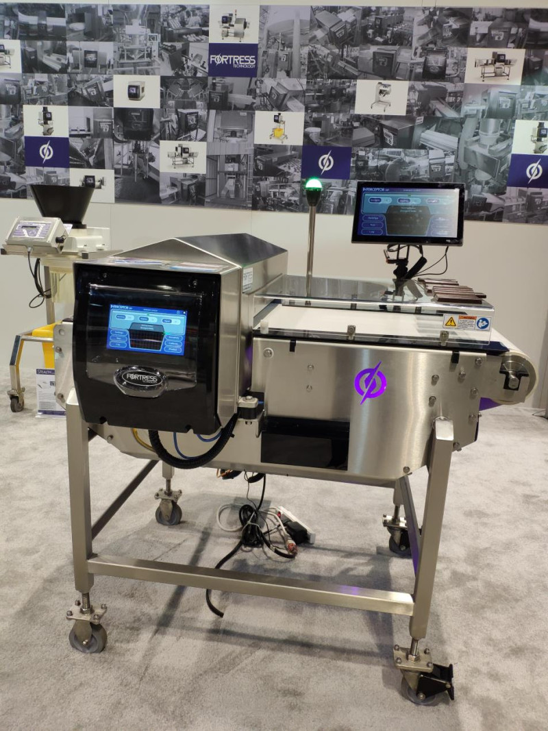 Another food metal inspection 'world first' from Fortress