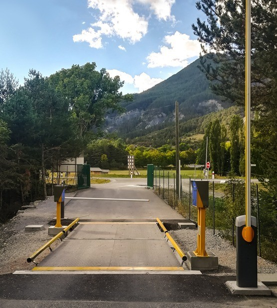 Self-Service Weighing Solution for Waste Plant in Barcelonnette (France)