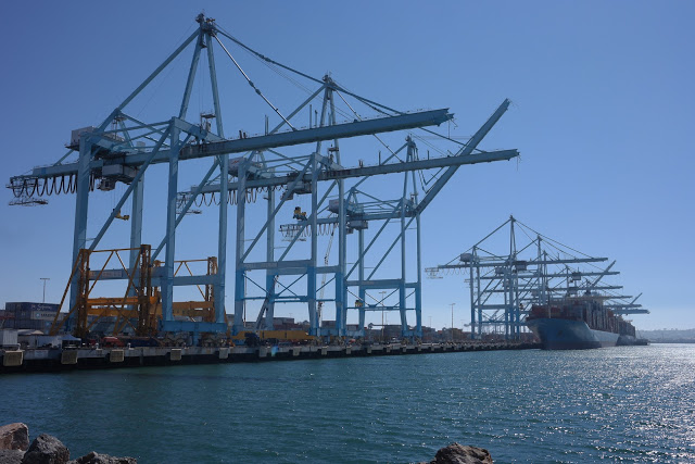 Straightpoint Load Cells provide Data for Ship-to-Shore Crane Project