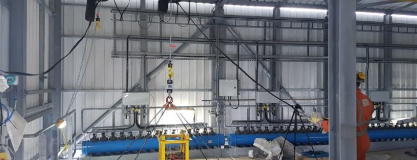 RSS Tests Lifting Beams at Waste-to-Energy Site