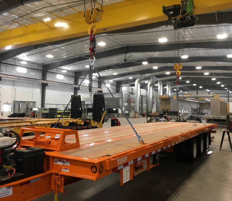 Trailer Manufacturer Invests in SP Load Cells