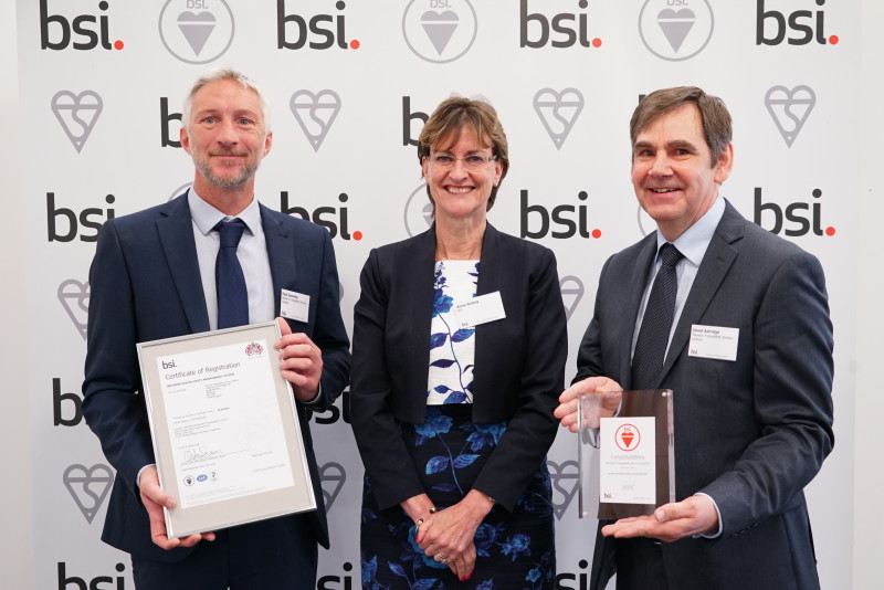Weighing experts Stevens Traceability Systems earn recognition at BSI