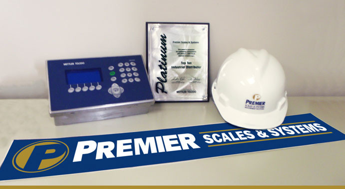 Premier Scales & Systems receives METTLER TOLEDO's 2018 Platinum Award