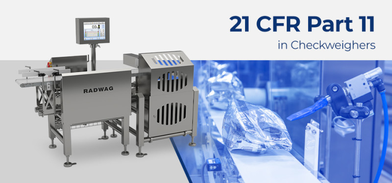 21 CFR part 11 in Checkweighers