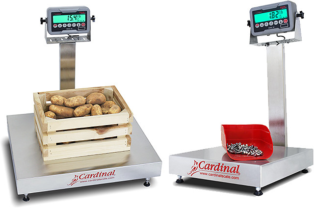 New EB-185 Series Digital Bench Scales from Cardinal Scale
