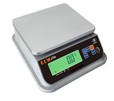 EXCELL Accounces ESW Max Series IP68 Waterproof Scale with 2000 Hours of Battery Life