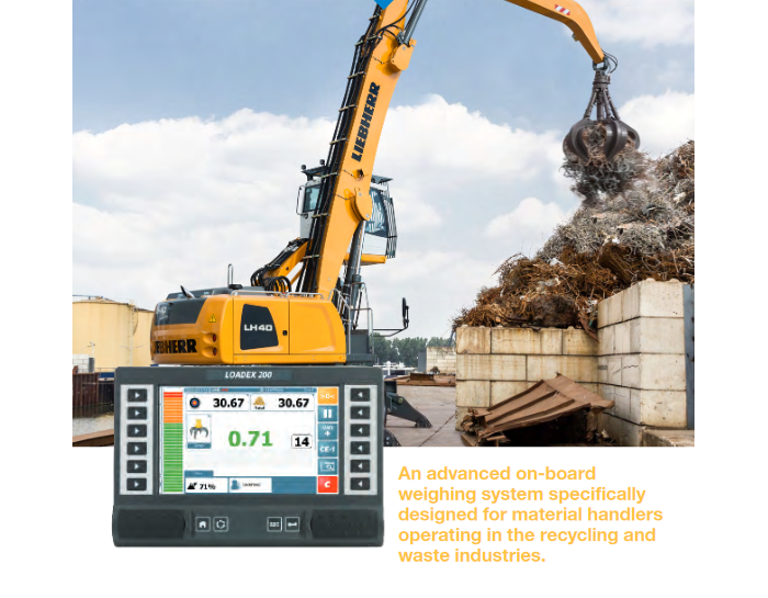 New RDS Technology Loadex 200 for Material Handlers