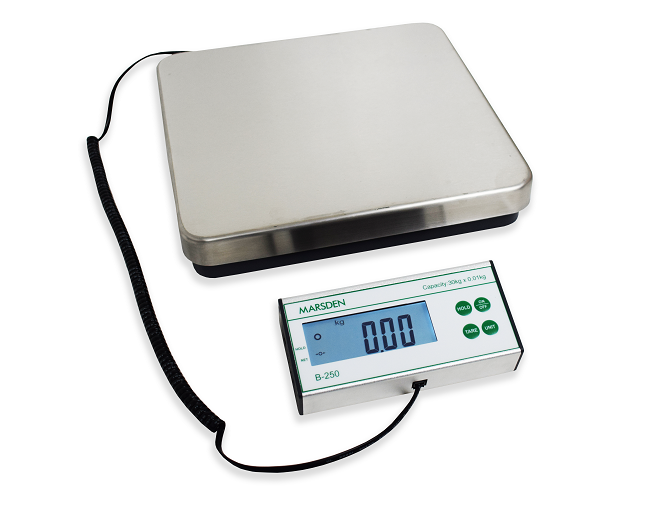 Introducing the New Marsden B-250 Bench Scale